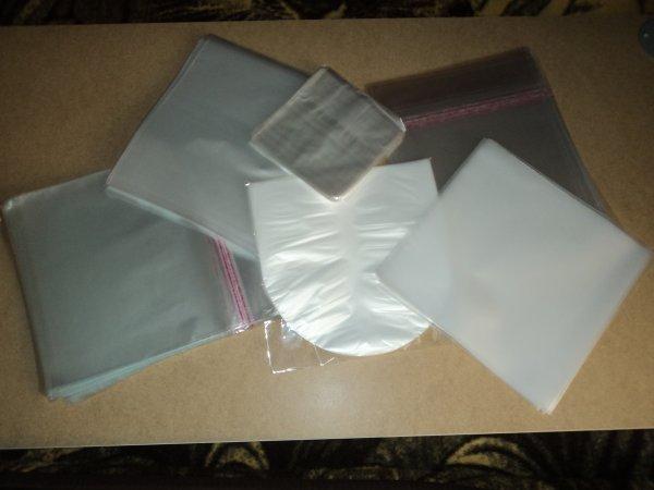 Пакеты внешние и внутренние для пластинок.