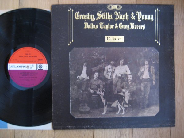 CROSBY, STILLS, NASH & YOUNG - DEJA VU  UK ORIG LP EX/NM