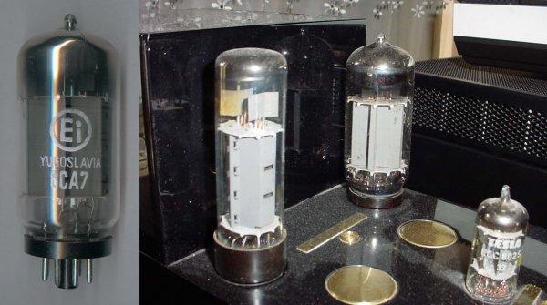 Радиолампы 6CA7 (EL34) - 2 шт.