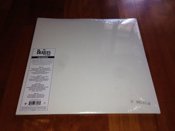 THE BEATLES - S/T (THE WHITE ALBUM) (1968) * 2LP * MONO (2014) * NEW/SEALED