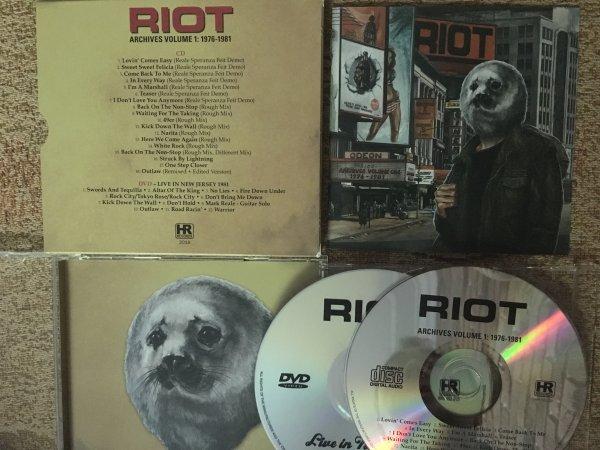 RIOT - ARCHIVES VOLUME 1: 1976 - 1981 (2018)