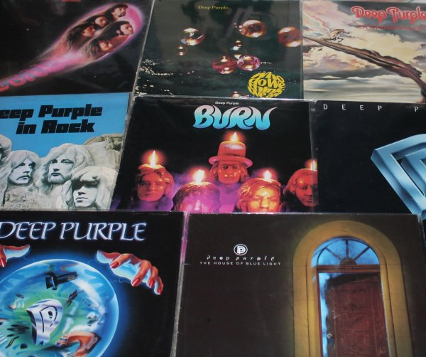 Deep  Purple - 8 LP  UK  1 прессы  Ex Nm