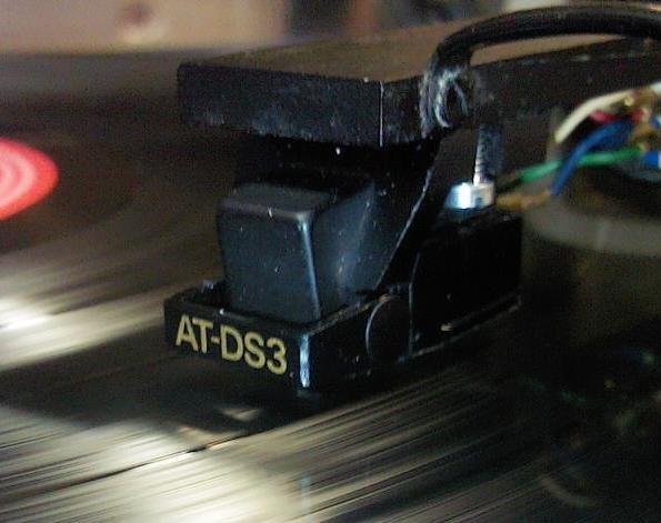 головка Аудиотехника AT-DS3 с оригинальной иглой. отправка по РФ