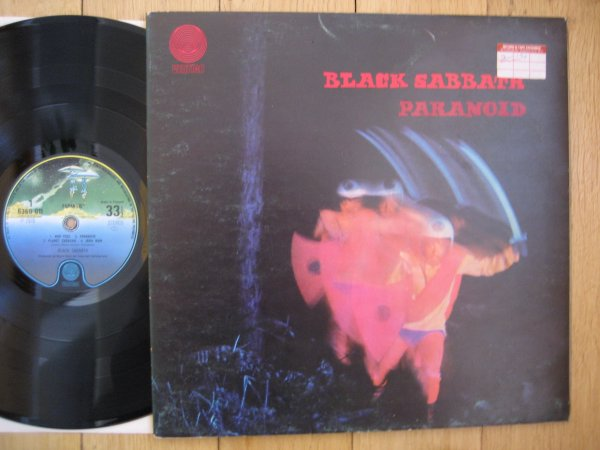 BLACK SABBATH - PARANOID  UK SECOND PRESS EX/NM
