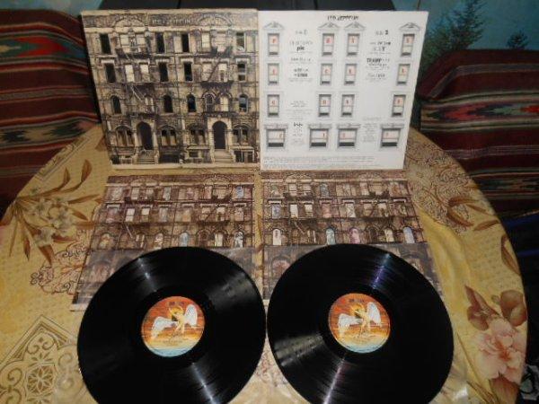 Led Zeppelin Physical Graffiti 2LP orig.UK 1975 Pre-Release