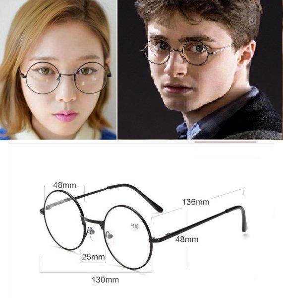 """Очки повседневные и для чтения а-ля """"Гарри Поттер"""", диап.+1-★"""