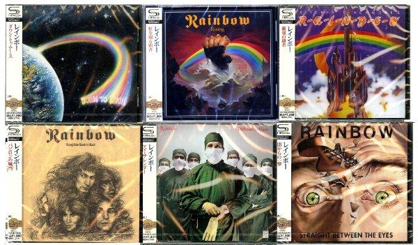 RAINBOW  *6 SHM-CD и другое из личной коллекции─★JAPAN \ SEALED