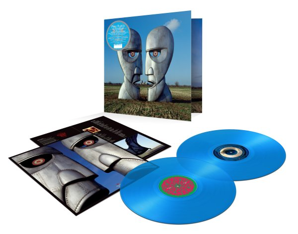 PINK FLOYD: The Division Bell (2019 25th anniversary 2 Blue LP синий винил