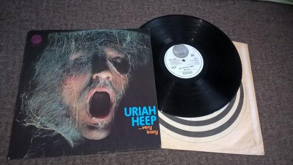 Uriah Heep ( ...Very 'Eavy Very 'Umble...)UK 1st press/swirl