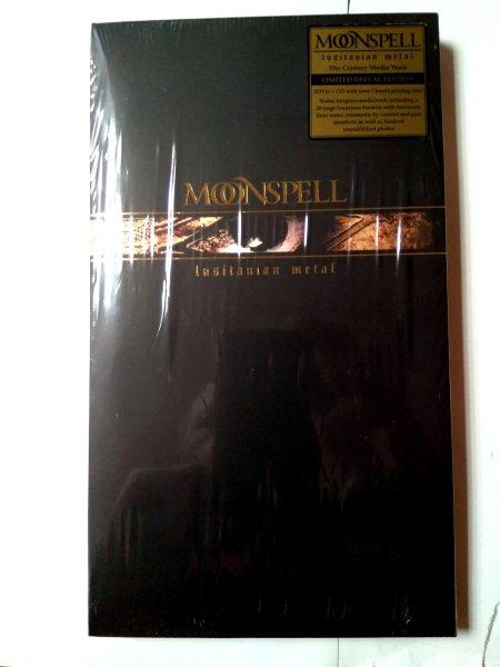 Moonspell - Lusitanian Metal (Europe) 2DVD+CD / Новый