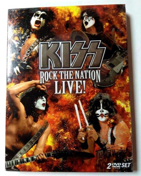 Kiss - Rock The Nation Live (USA) 2DVD / Новый