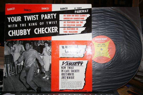 CHUBBY CHECKER – YOUR TWIST PARTY 1961 - 1st USA MONO MINT