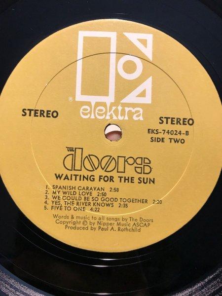 DOORS - WAITING for the SUN 1969 – USA 1st