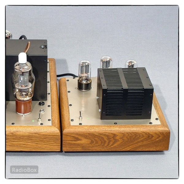 Ламповый фонокорректор 6Н9С/6Н8С (New)