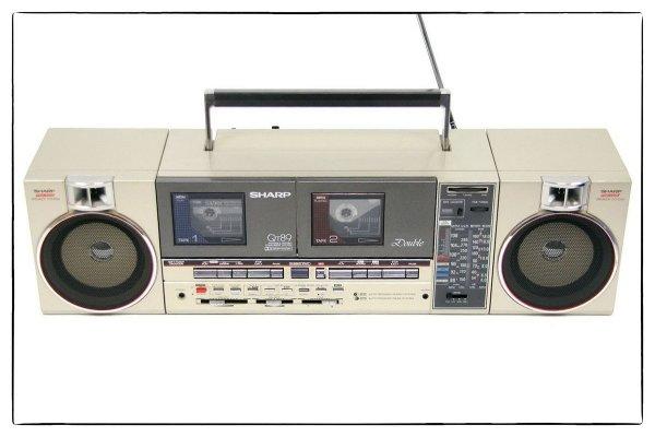 Магнитола Sharp QT-89 (Japan)