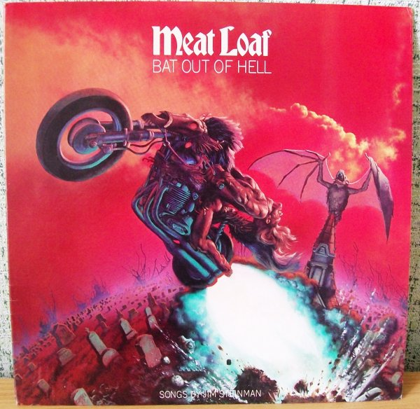 Meat Loaf 1977 Bat Out Of Hell USA NM \ NM
