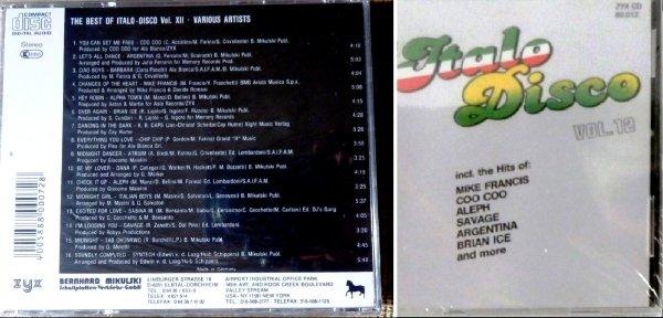 The Best Of Italo Disco №12 и другое ─★SEALED★►