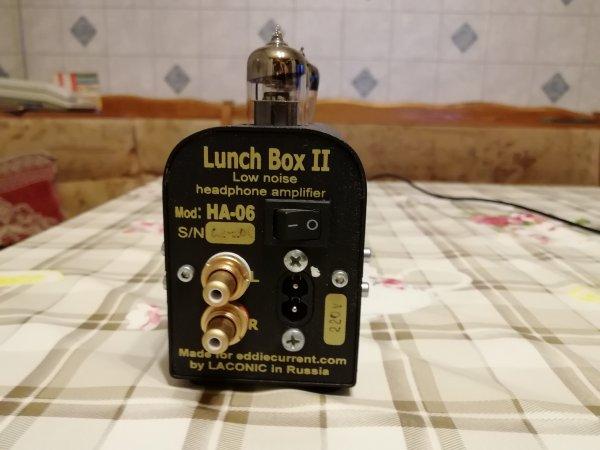Усилитель для наушников Laconic Lunch box