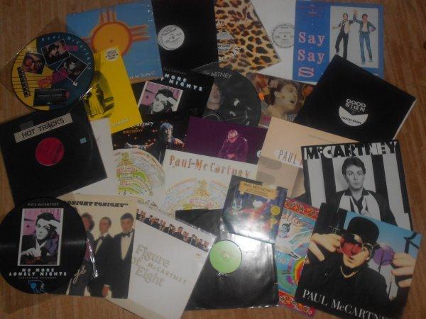 """Paul McCartney Маккартни 12"""" синглы + прочие виниловые и компакт-редкости"""