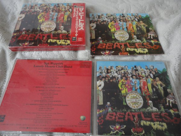The Beatles – Sgt. Pepper's Lonely Hearts Club Band Japan OBI