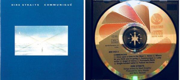 CD Dire Straits Communique