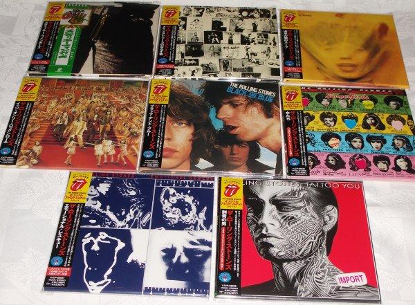 ROLLING STONES(70-е)- 8 альбомов (1-й пресс) на японском мини-виниле