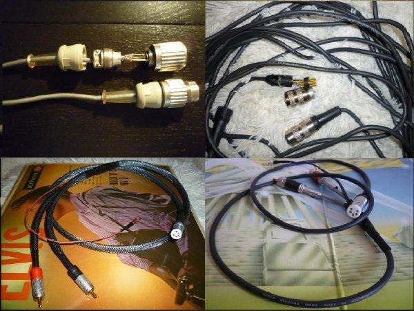 Кабель для тонарма из провода Neumann