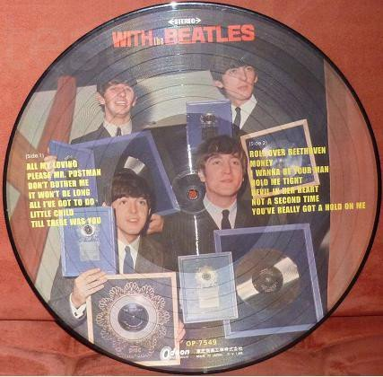 пикчер The Beatles – With The Beatles. Unofficial Release, Stereo. отправк