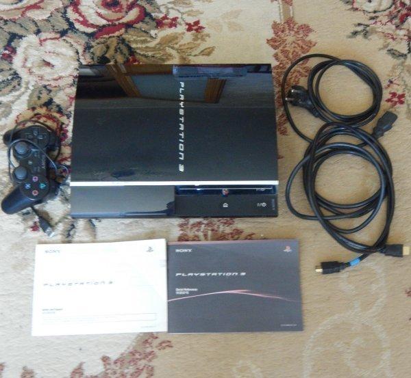 приставка Sony PS3 80 GB прошивка 3.55 с SACD-Ripper