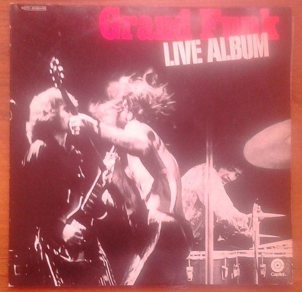 GRAND FUNK LIVE ALBUM 2 LP GERMANY