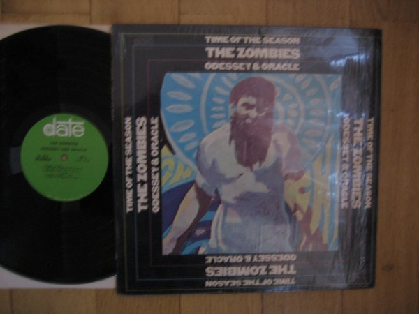 THE ZOMBIES - ODYSSEY AND ORACLE  USA 1969 PRESS IN SHRINK NM/NM