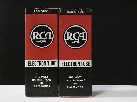 5U4GB RCA, Black Plates (NOS)