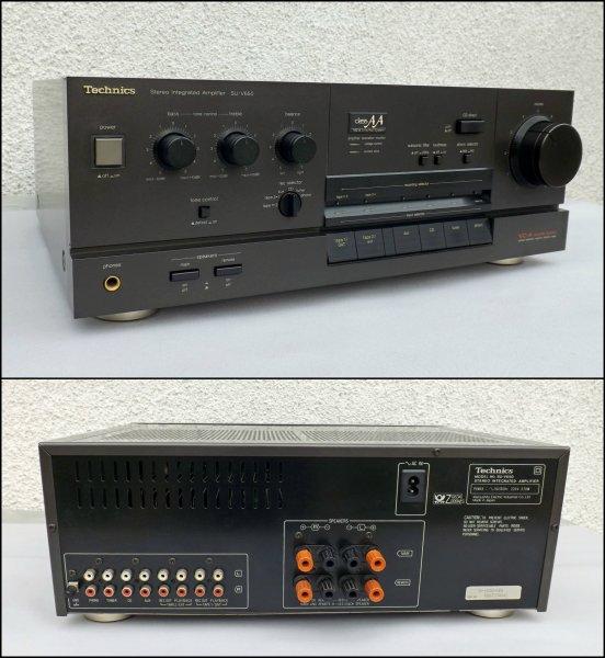 Technics SU-V650. Интегральный усилитель. Japan (220 вольт)