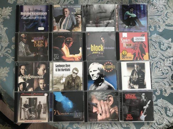 Фирменные CD (blues, jazz, rock) USA, JAPAN, EU