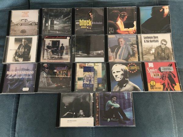Фирменные CD (blues, jazz, rock) USA,  EU