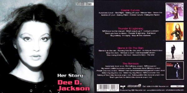 Dee D Jackson «Her Story» ●4 CD BOX♦SET и другое─◄●SEALED●