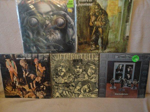 Jethro Tull 4 LP