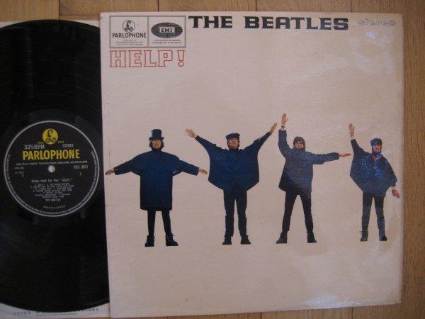 THE BEATLES - HELP UK ORIG LP EX/EX
