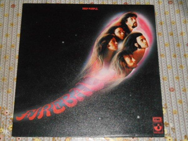 Deep Purple Fireball UK 1971