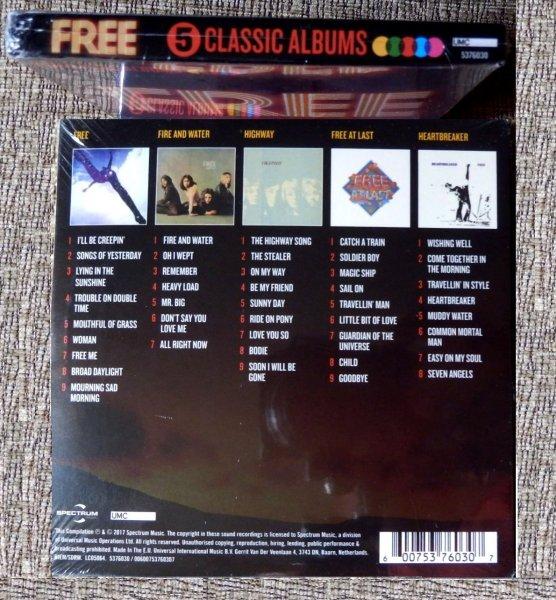 FREE - Classic Albums 5 CD-Box-Set и другое ─★SEALED