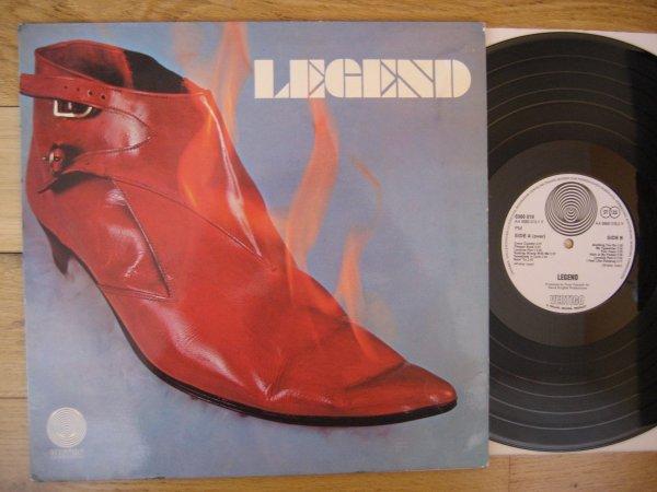 RARE: LEGEND - SAME (RED BOOT) GER ORIG LP VERTIGO SWIRL NM/NM