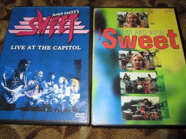 The Sweet - 2 ДВД видео - диска
