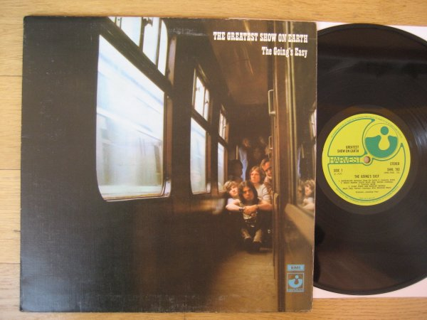 GREATEST SHOW ON EARTH - THE GOING,S EASY UK ORIG LP EX/EX (EX FUZZY DUCK)