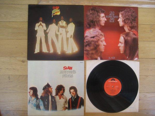 SLADE 3 ORIG LP 1974,75,76 NM/NM