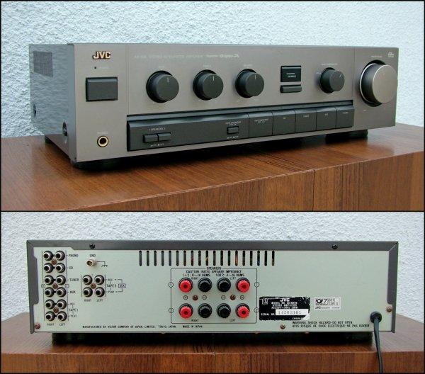 JVC AX-335TN. Интегральный усилитель, Dynamic Super-A