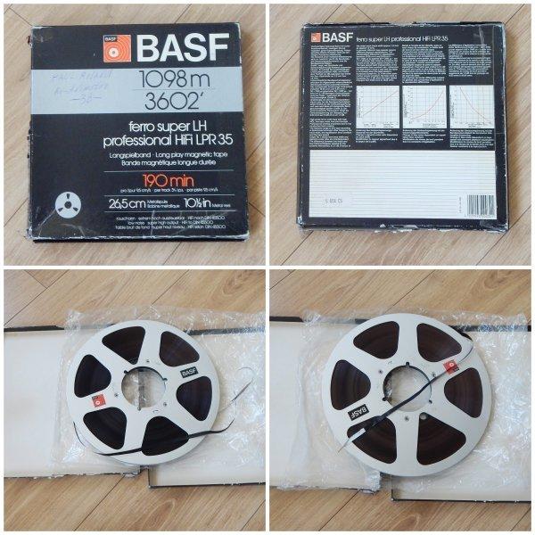 Магнитная лента BASF LPR35 Professional HiFi, 1100м