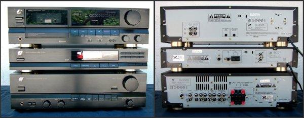 Sansui AU-X111, TU-X111, D-X111. Усилитель, тюнер, кассетная дека