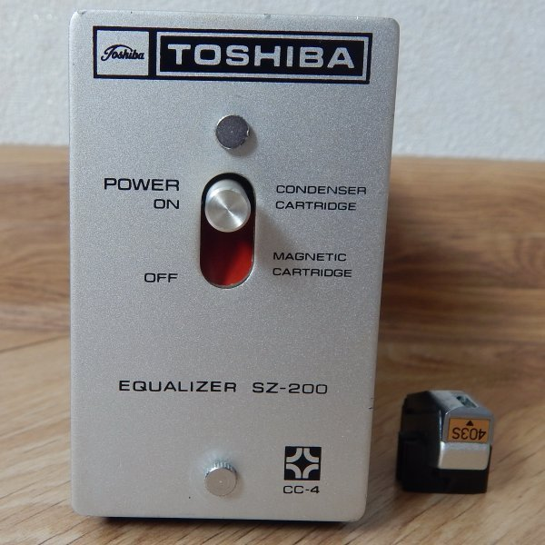 Toshiba Equalizer SZ-200 + Toshiba N-403