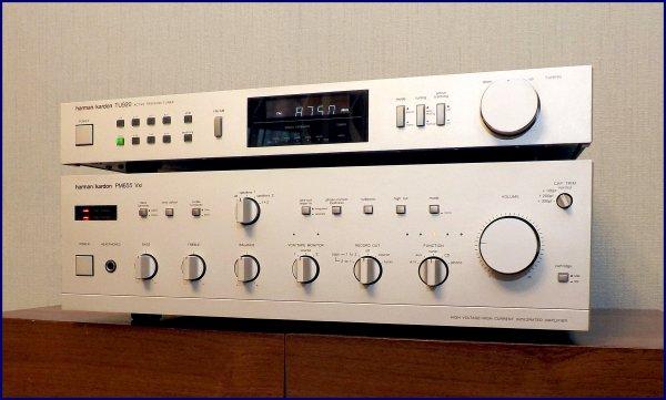Harman Kardon PM655 Vxi, TU 920. Интегральный усилитель + тюнер