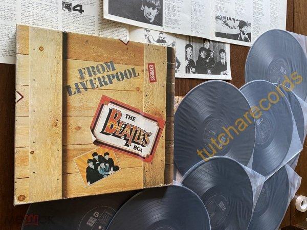BEATLES – From Liverpool - BOX - 8x LP - EMI – EAS 77011-77018 - ОРИГИНАЛ